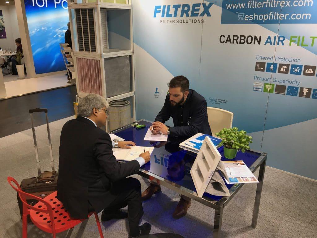 about filtrex expo conversation